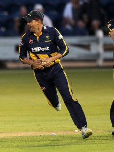 Jacques Rudolph fielding for Glamorgan