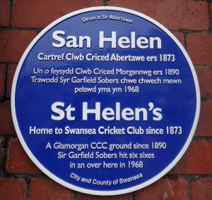 St Helen's Blue Plaque