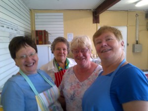 Sandra Curtin, Rachel Owen, Jacqui Denning and Cynthia Young.