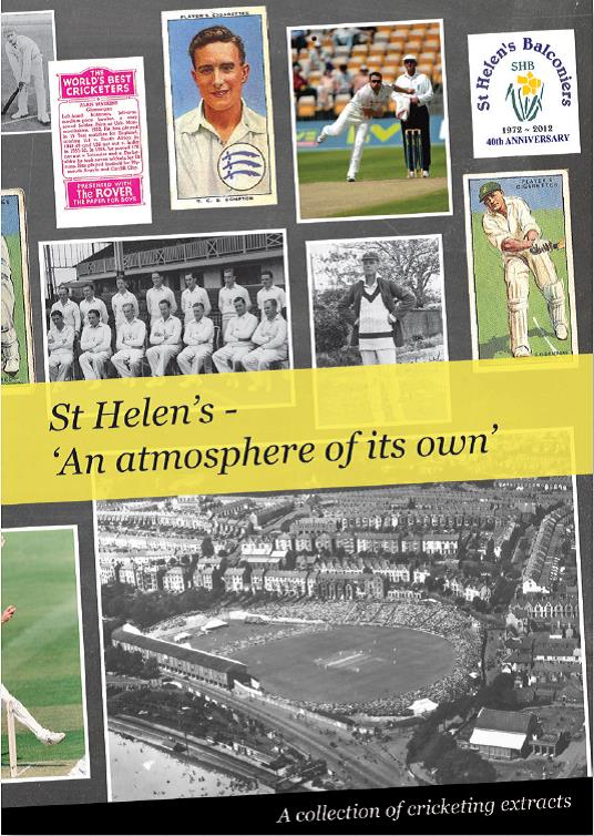 St. Helen's book cover